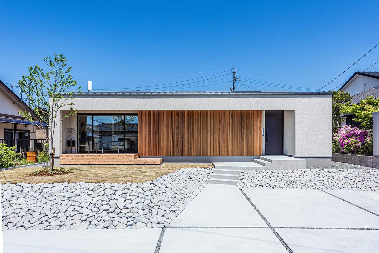 木造平屋外観