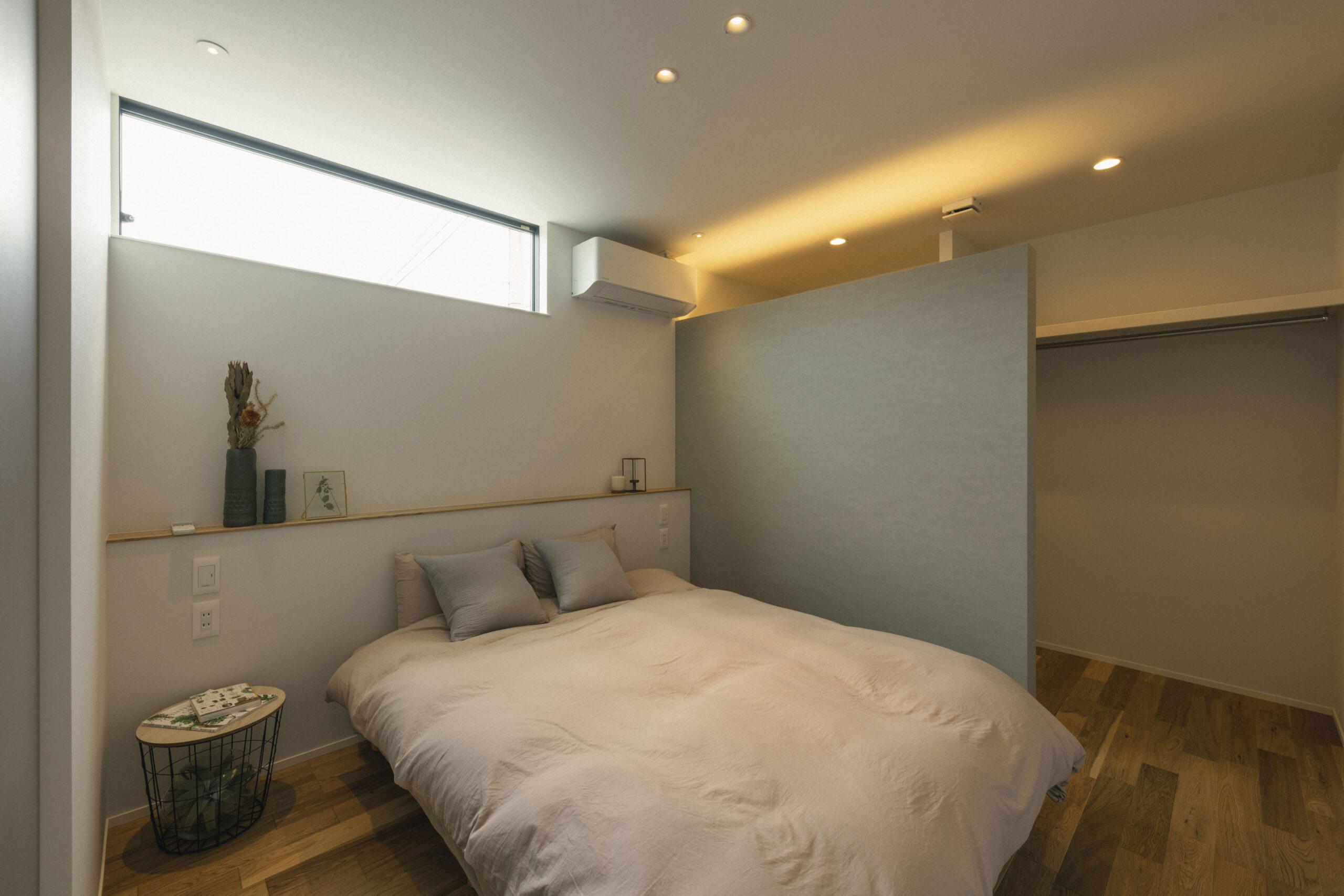 収納のある寝室